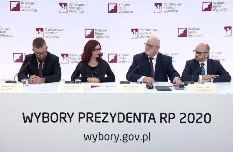 Wybory prezydenckie 2020. PKW podała oficjalne wyniki pierwszej tury. Andrzej Duda z poparciem 43,50 proc.