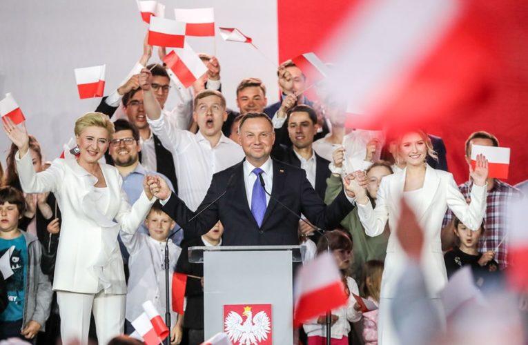 Late poll: Rośnie przewaga Andrzeja Dudy
