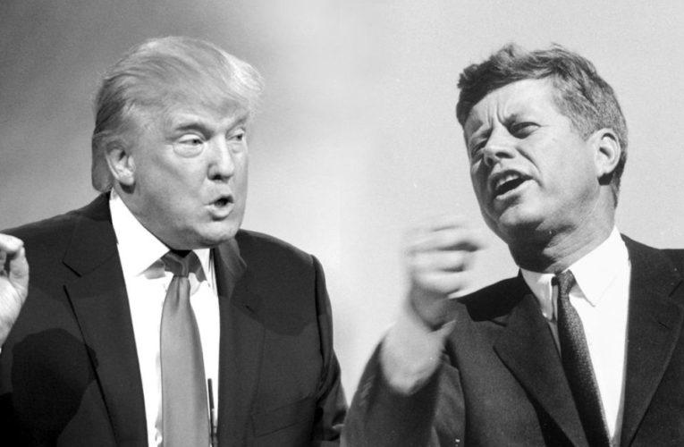 SZOK HISTORII . Trump & Kennedy. Trump mówi też o deep state