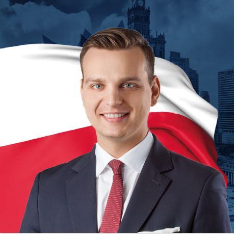 Jakub Kulesza nie założy maseczki na zaprzysiężeniu prezydenta Dudy [WIDEO]