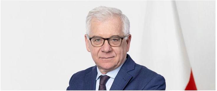 Minister MSZ Jacek Czaputowicz podał się do dymisji