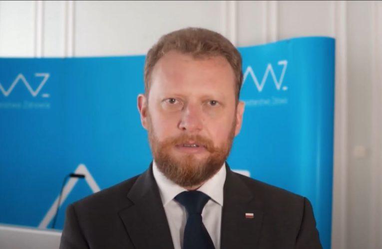 """Łukasz Szumowski: """"Strefy czerwone obejmą w końcu cały kraj"""""""