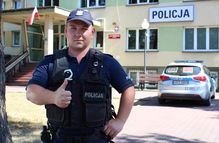 Podczas urlopu w Chorwacji policjant z Otwocka uratował życie mężczyzny