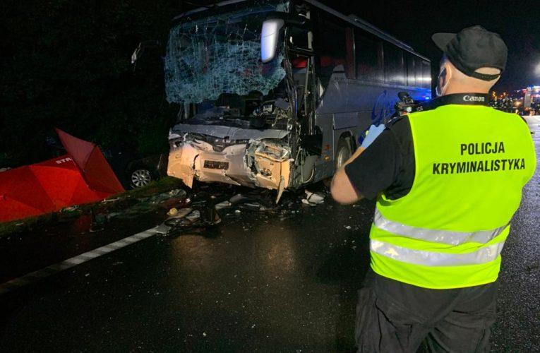 Gliwice: Tragedia na drodze. Nie żyje 9 osób