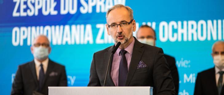 Minister zdrowia powołał Zespół do spraw opiniowania zmian w ochronie zdrowia