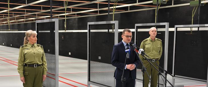 Otwarcie strzelnicy COS Straży Granicznej w Koszalinie
