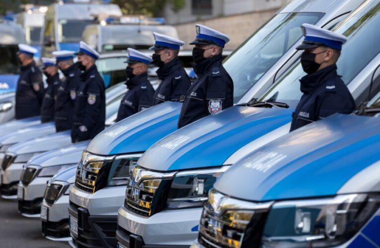 Nowy sprzęt dla policjantów z Garnizonu Stołecznego