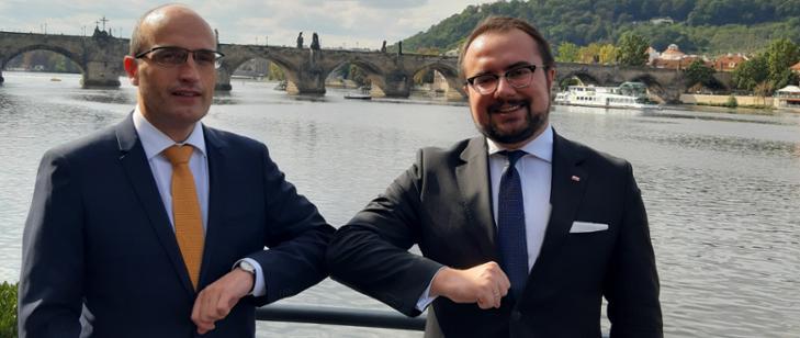 Dwustronne polsko-czeskie konsultacje w obszarze dyplomacji ekonomicznej i współpracy regionalnej