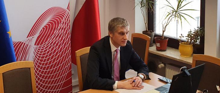 Wiceminister Piotr Nowak uczestniczył w dorocznym spotkaniu gubernatorów EBOR