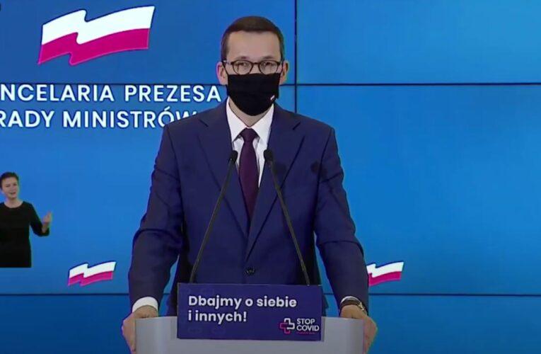 Cała Polska w czerwonej strefie. Premier przedstawił listę nowych obostrzeń