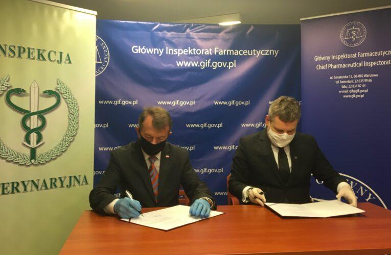 GIF: Porozumienie z Głównym Lekarzem Weterynarii podpisane!
