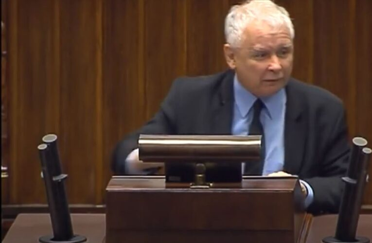 Prezes PiS Jarosław Kaczyński na kwarantannie