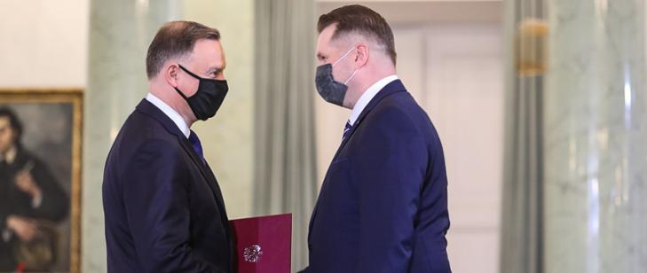 Przemysław Czarnek powołany na urząd Ministra Edukacji i Nauki