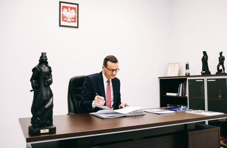 Premier Mateusz Morawiecki: Nasze strategiczne cele to chronić życie i zdrowie Polaków