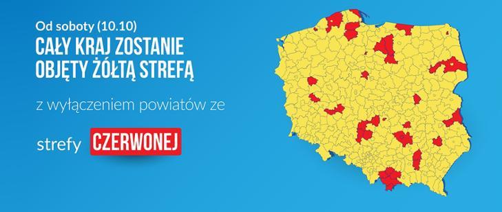 Koronawirus w Polsce. Zaostrzenie zasad epidemicznych i powołanie 16 szpitali koordynacyjnych
