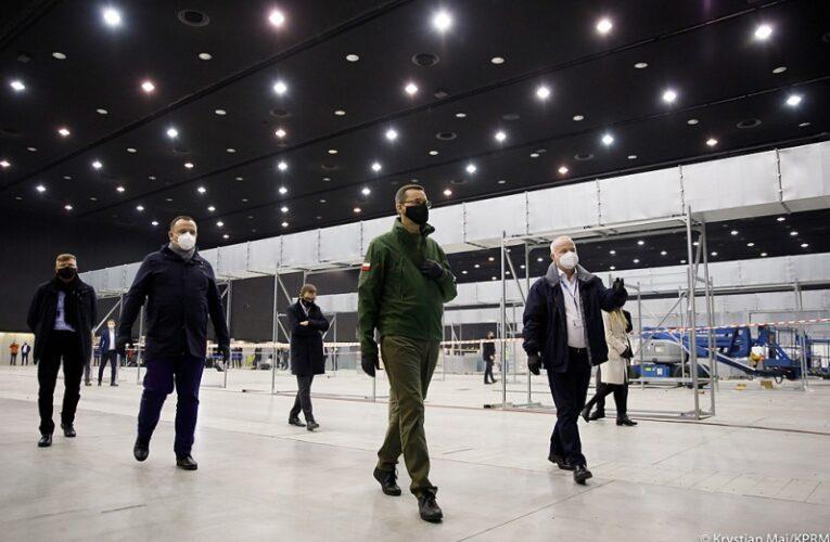 Premier na Śląsku: Włączyliśmy hamulec bezpieczeństwa, by ratować ludzkie życie i zdrowie