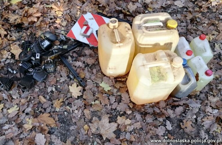Policjanci zatrzymali sprawcę kradzieży paliwa i innych wartościowych przedmiotów