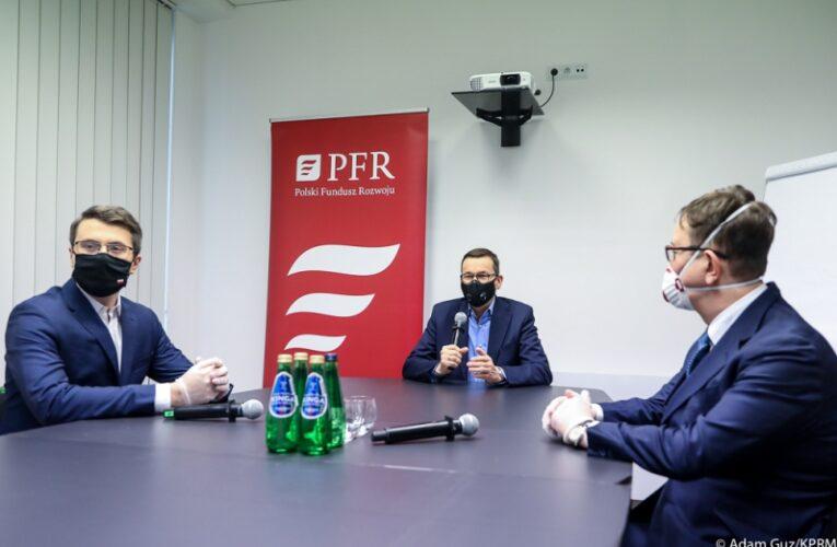 Premier Mateusz Morawiecki po wideokonferencji z przedsiębiorcami: Firmy muszą mieć pełne wsparcie ze strony państwa