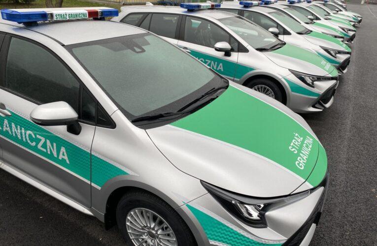 Do Straży Granicznej trafiły nowe samochody patrolowe