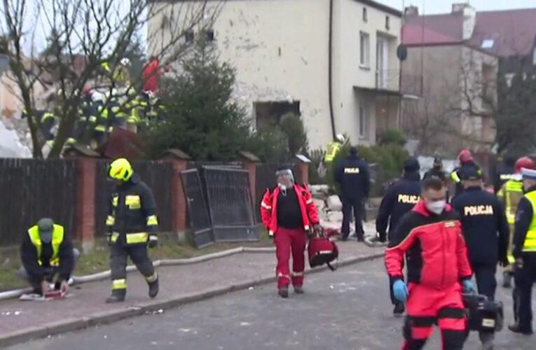 Wybuch gazu w Puławach. Jedna osoba nie żyje. Trwa akcja ratunkowa