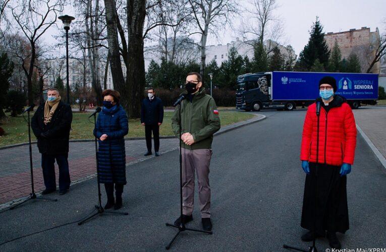 9 grudnia Solidarnościowy Konwój Wsparcia Seniorów rusza w Polskę