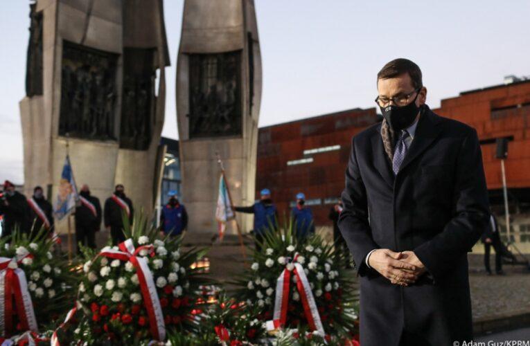 Premier Mateusz Morawiecki wziął udział w obchodach 50. rocznicy Grudnia'70