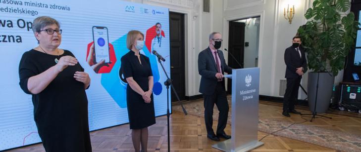 MZ: Rusza system zdalnego monitorowania pacjentów z Covid-19