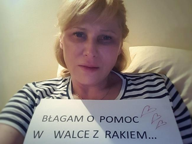 Samotna mama na onkologicznym ringu błaga o pomoc! Ratujmy życie Reni!