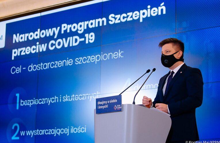 Narodowy Program Szczepień przeciw Covid-19. Rząd przedstawił projekt