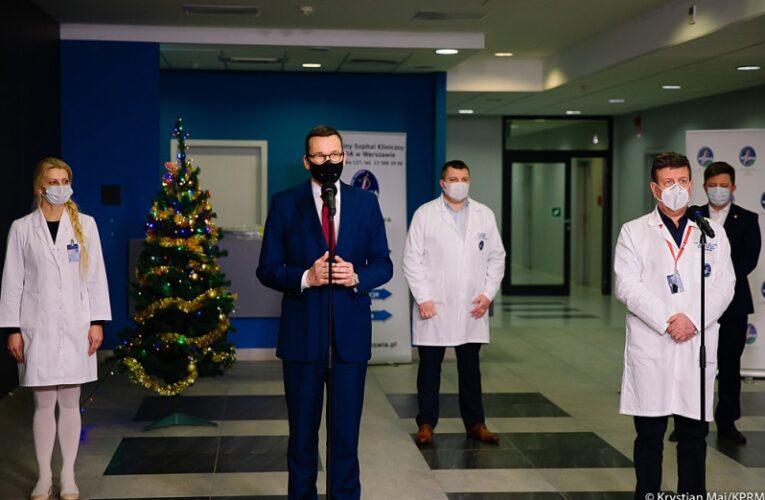 Pierwsze szczepienia przeciwko COVID-19 w Polsce już pod koniec grudnia