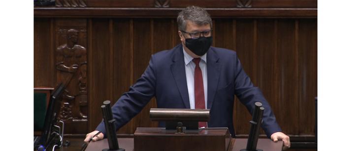 Wiceminister Maciej Wąsik w Sejmie: Policja realizuje swoje ustawowe zadania