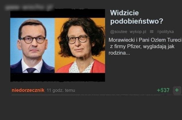 """""""PANI OD SZCZEPIONKI"""" ZAGUBIONĄ SIOSTRĄ MATEUSZA MORAWIECKIEGO ?"""