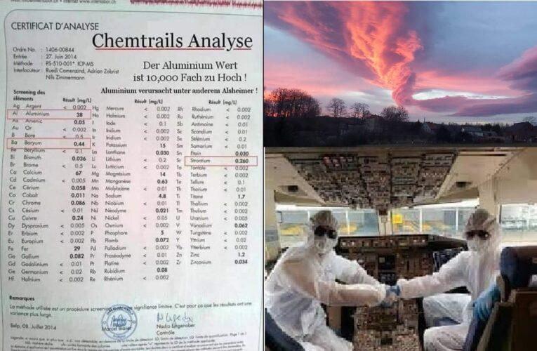 ZA KULISAMI PANDEMII – CO SIĘ DZIEJE Z NIEBEM ? / OPRYSKI CHEMIKALIAMI NA MASOWĄ SKALĘ.