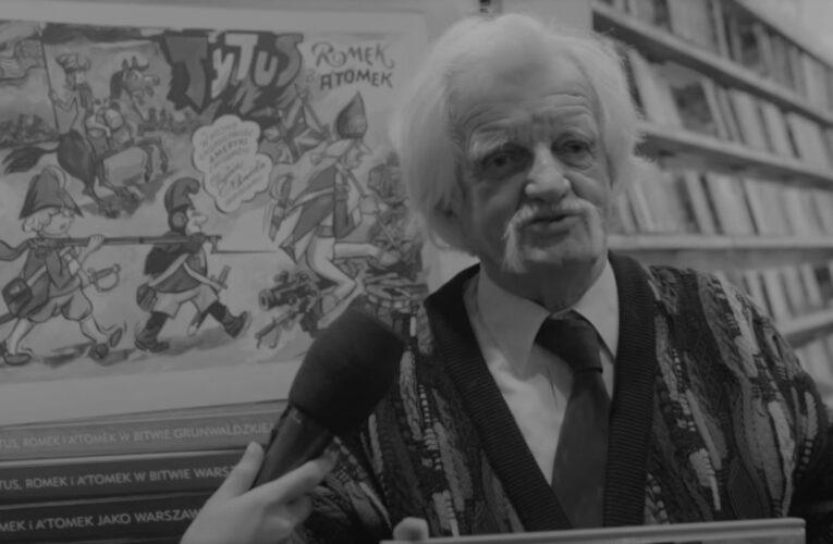 """Nie żyje """"Papcio Chmiel"""". Henryk Jerzy Chmielewski miał 97 lat"""