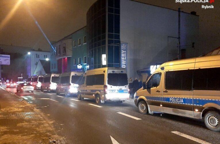 Otwarty klub w Rybniku. Doszło do starć z policją