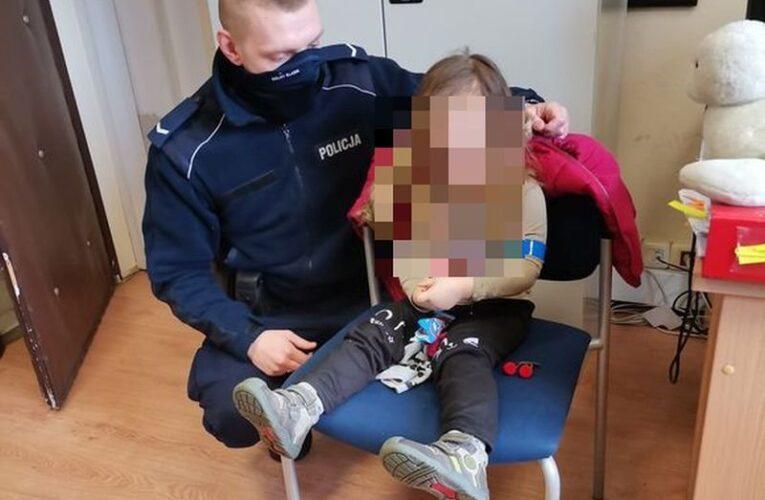 Góra: Zagubiona 3-latka błąkała się samotnie po ruchliwej ulicy