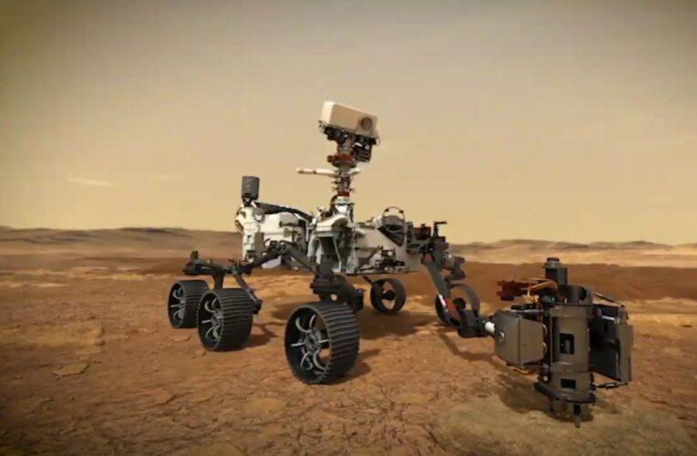 Łazik NASA wylądował na Marsie