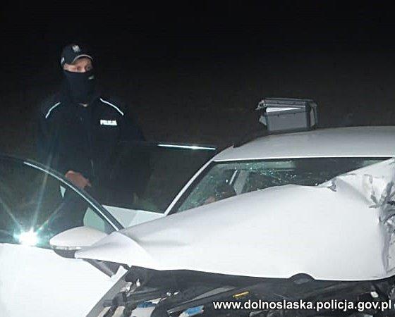 Środa Śląska: Tragiczny wypadek. Nie żyje 49-letni kierowca