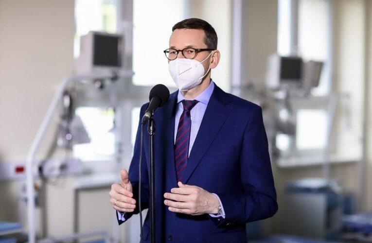W Radomiu powstał szpital rezerwowy. Premier: To jest nasza kolejna linia obrony