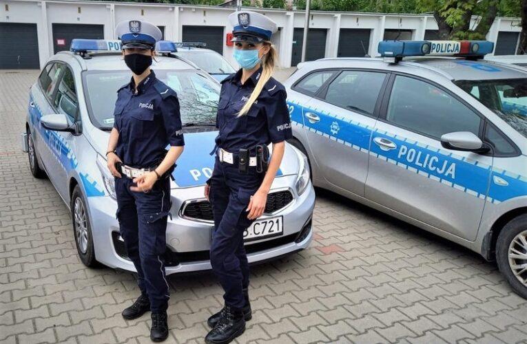 Wrocław: Policjantki pilotowały samochód z rodzącą kobietą