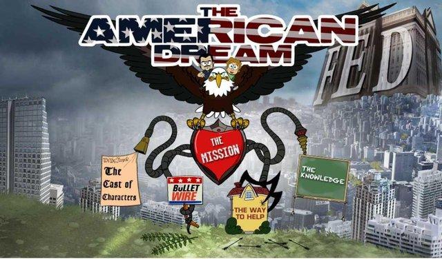 THE AMERICAN DREAM – PART 1(NAPISY PL) – ANIMACJA O BANKIERACH ZADŁUŻAJĄCYCH ŚWIAT!