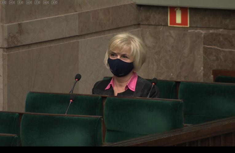 Sejm za wyborem Lidii Staroń na urząd Rzecznika Praw Obywatelskich