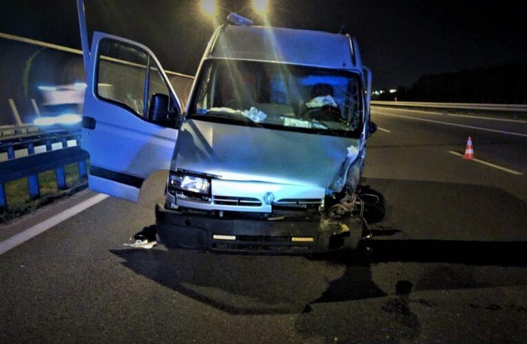 """Wrocław: Jechał """"pod prąd"""" autostradą. Spowodował trzy wypadki i kontynuował jazdę"""