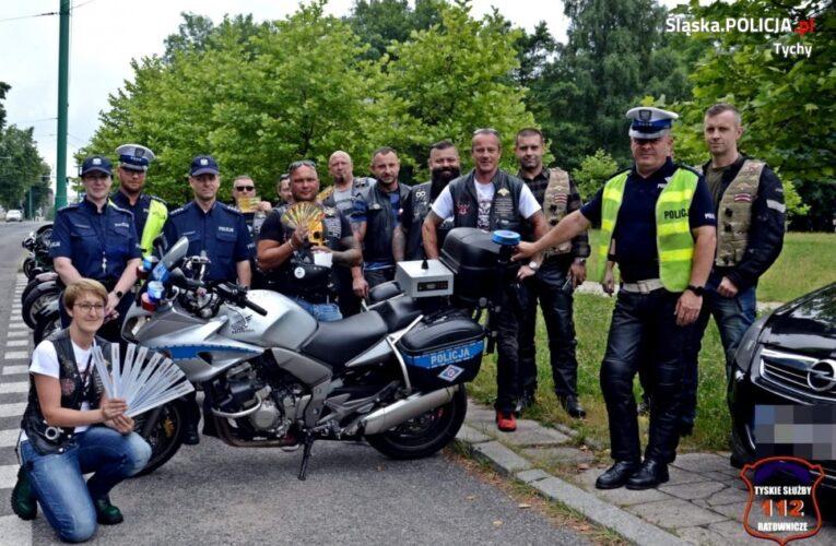 """""""Patrz w lusterka, motocykle są wszędzie"""". Wspólne działania w trosce o bezpieczeństwo motocyklistów"""