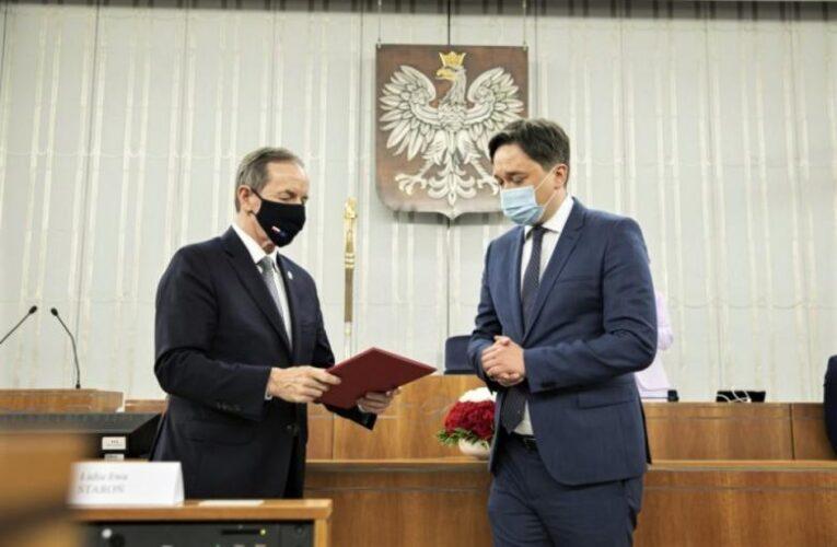 Prof. Marcin Wiącek pełni już funkcję Rzecznika Praw Obywatelskich VIII kadencji