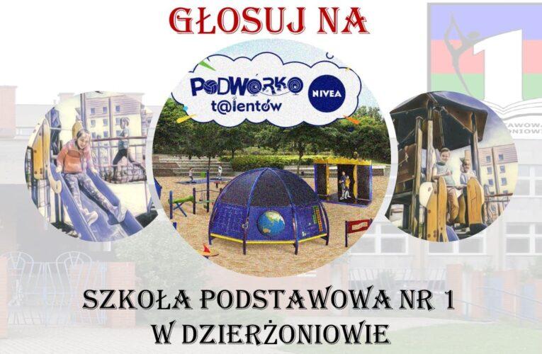 Dzierżoniów walczy o Podwórko Nivea. Pomóż dzieciom i zagłosuj! Pełna mobilizacja!