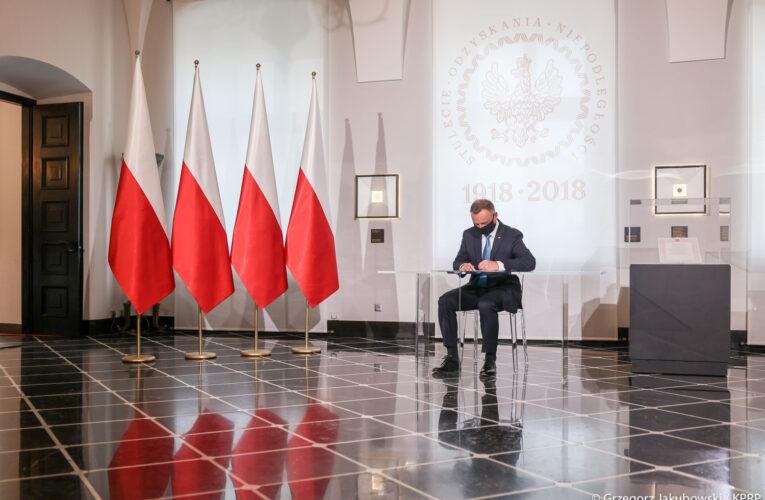 Prezydent Andrzej Duda podpisał ustawę o odbudowie Pałacu Saskiego