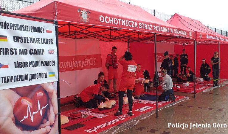 Jelenia Góra: Zamiast mandatu instruktaż pierwszej pomocy