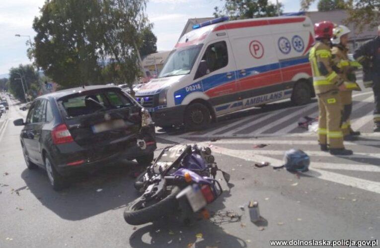 Gryfów Śląski: Tragedia na drodze. Zginęła 19-letnia motocyklistka