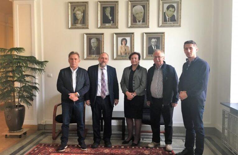 Wizyta naczelnego rabina Polski Michaela Schudricha w Biurze Rzecznika Praw Obywatelskich